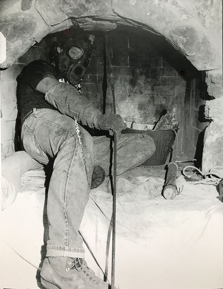 Bob performing sweep
