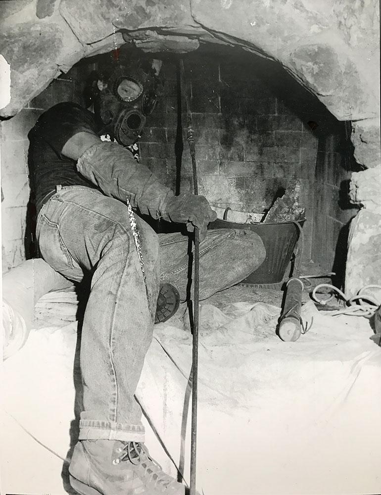 Bob performing sweep