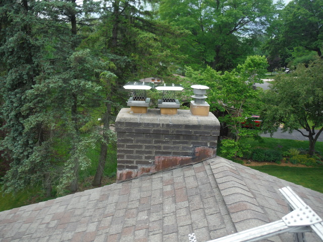 Chimney-with-flue-caps-installed